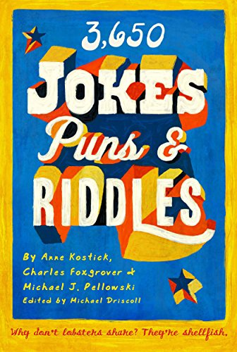 3650 Jokes Puns And Riddles Kindle Edition By Charles Foxgrover