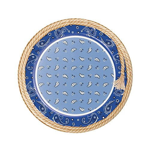 Creative Converting 8 Count Sturdy Style Round Paper Plates, 8.75