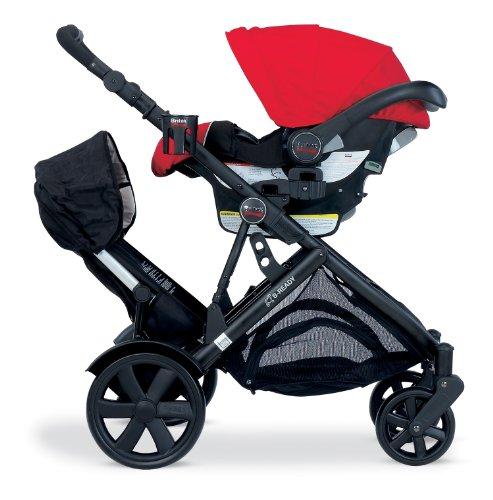 Amazon.com : Britax Second Seat for B-Ready Stroller, Black : Baby ...