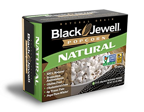 Black Jewell Premium Microwave Popcorn, Natural, 3-Count, 10.5-Ounce Boxes (Pack of 6) (Black Jewel Popcorn Microwave compare prices)