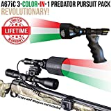 Wicked Lights A67iC 3-Color-In-1 (Green, Red, White LED) Predator Pursuit Pack with Intensity Control for Night Hunting Coyote, Predator, Varmint & Hogs Review