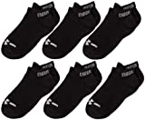 Under Armour No Show Socks (6-Pair), Black, Youth Large