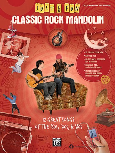 Amazon.com: Just For Fun: Classic Rock Mandolin Easy Mandolin Tab ...