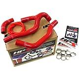 05-08 Honda CRF450R HPS Red Silicone Radiator Hose Kit Coolant CRF 450R 06 07