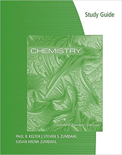 Book Study Guide for Zumdahl/Zumdahl/DeCoste's Chemistry, 10th Edition
