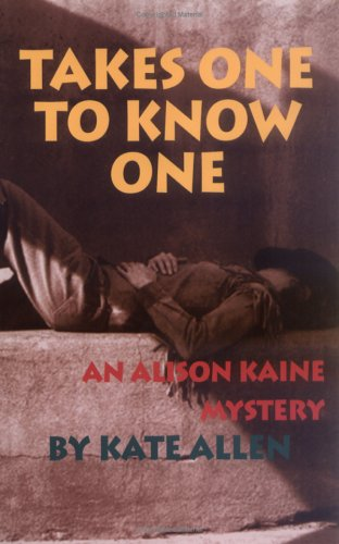 book cover of Takes One to Know One