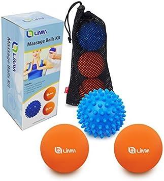 Amazon.com: Limm Therapy - Juego de bolas de masaje para ...