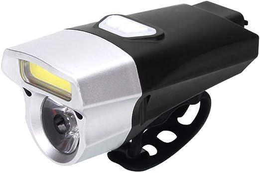 1 USB-Kabel enthalten helle Fahrrad-Sicherheitstaschenlampe f/ür den hinteren Radverkehr 4 Optionen f/ür den Lichtmodus 330-mAh-Lithiumbatterie 1 pcs Wiederaufladbare USB-LED-Fahrradr/ücklichter