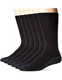 Men's ComfortBlend Max Cushion Crew Socks 6-Pack