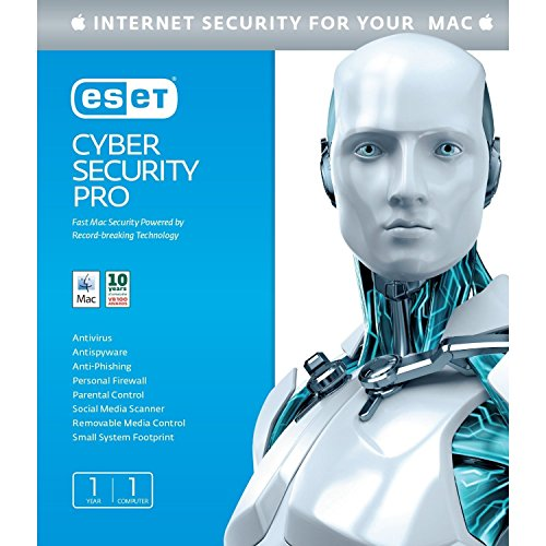 Eset Cyber Security 2014 Pro for Mac 1Yr 1-User (Eset 2014 User 1)