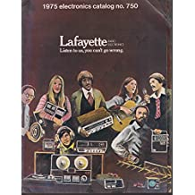 LAFAYETTE Electronics Catalog #750 1975 CB science kits guitars novelty radios