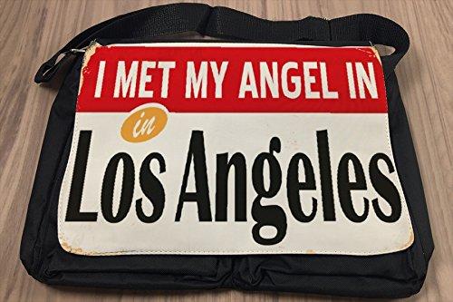Borsa Tracolla Città Los Angeles USA Stampato