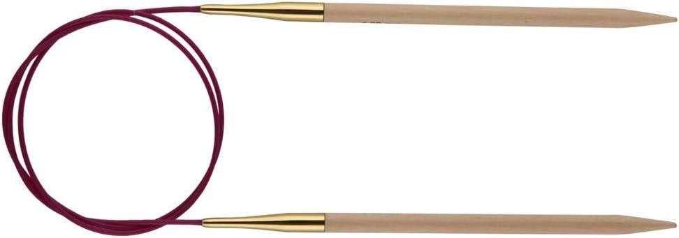 Aiguilles circulaires BOIS BOULEAU N/°12 PRYM 80 cm