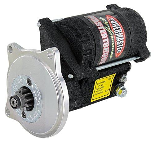 Powermaster 9606 Mastertorque; Starter; Standard; 180 ft./lb. Torque; 4.4-1 Gear Reduction; Adjustable Mount; Ford FE;