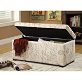 Sahara Tufted Storage Ottoman (Various Colors) (Script) Review