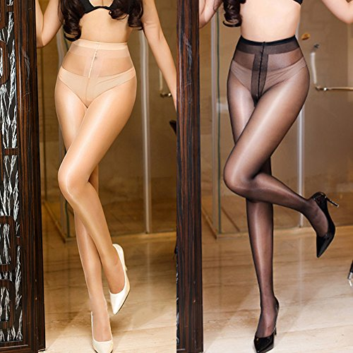 New oily Stockings,Shuohu Seamless Women T Crotch Stockings by Shuohu (Image #1)