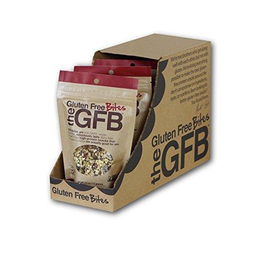 The GFB Gluten Free, Non-GMO High Protein Bites, Chocolate Cherry Almond, 4 Ounce (6 (Dark Chocolate Cherry Almond)