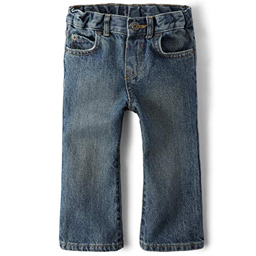 The Children's Place Little Boys and Toddler Bootcut Jean, River, 4T from The Children's Place