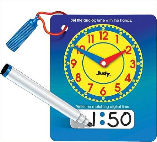 Write And Wipe Judy Clock With Pen Ebook Rar