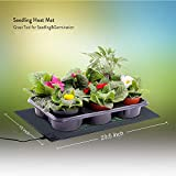 "EACHON 10""x20.5"" Seedling Heat Mat and Thermostat"