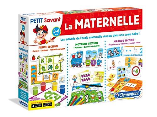 Clementoni 62411.9 La Maternelle - Juego Educativo (en francés)