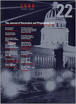 The Journal of Decorative and Propoganda Arts 22: Cuba Theme Issue