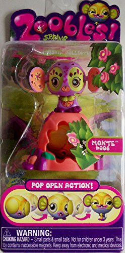 Zoobles Toy Petagonia Animal Mini Figure #6 Monte