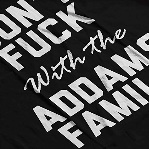 Dont Family Women's Coto7 Sweatshirt Fuck Addams Black With The qUXxwOxd1