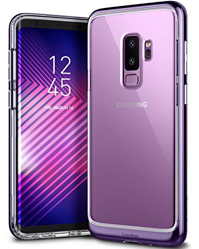 Caseology [Skyfall Series] Galaxy S9 Plus Case - [Clear Back/Premium Finish] - Metallic Purple