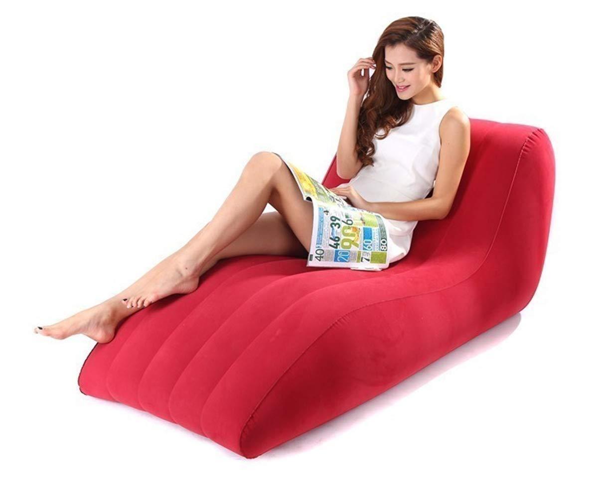 Amazon.com: Gooooolife - Sofá hinchable para adultos, juego ...