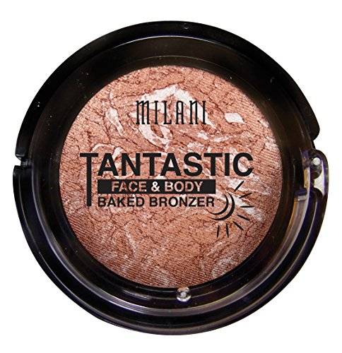 Milani Tantastic Face and Body Baked Bronzer, In Gold