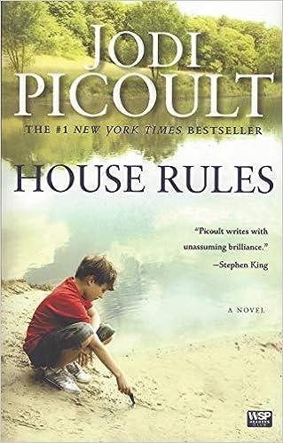 House Rules A Novel Picoult Jodi 9780743296441 Books