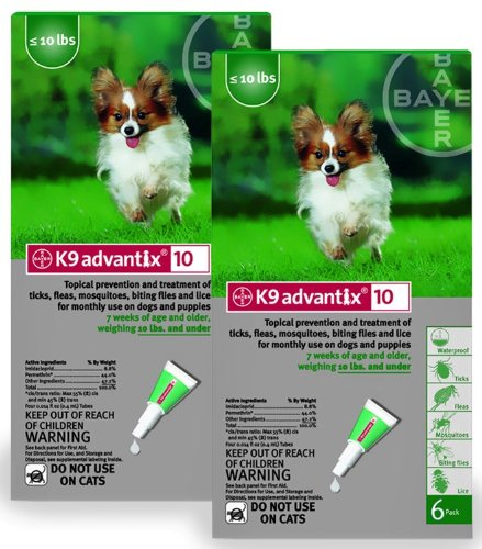 X Green (for dogs up to 10lbs.) (Revolution Flea Control)