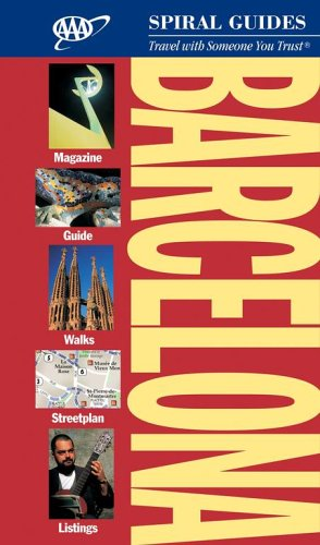 Barcelona Spiral Guide (AAA Spiral Guides) -