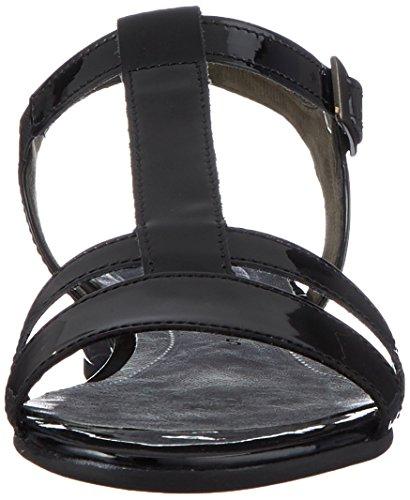 Schwarz Sport Comfort Women's Sandals Strap Ankle Gabor Black Multicoloured 97 Schwarz wH7zqE