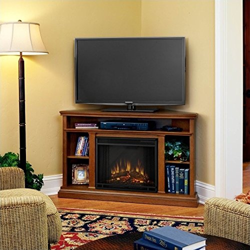 Jensen Indoor Tv - Real Flame 3750E-O Churchill Electric Fireplace