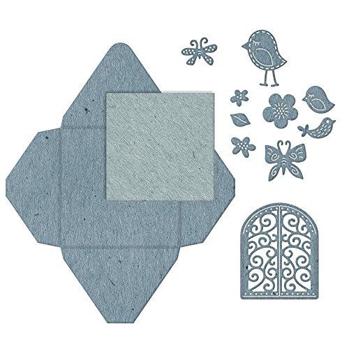 Cheery Lynn Designs B860 Decorative Window Gift Envelope 12 Piece Die ()