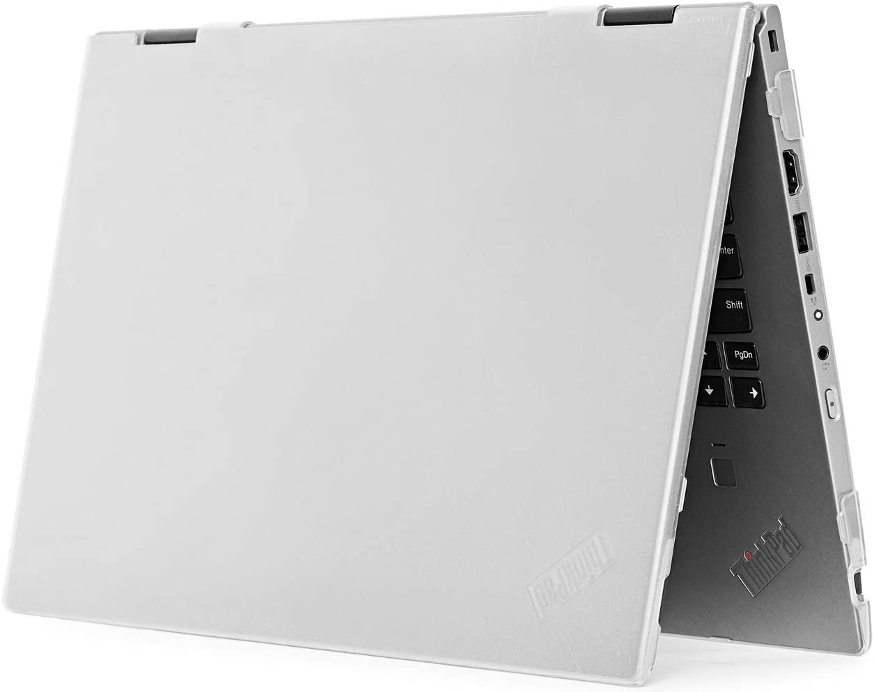 """mCover Hard Shell Case for 14"""" Lenovo ThinkPad X1 Yoga (3rd Gen) Laptop Computer (X1-Yoga-3G Clear)"""