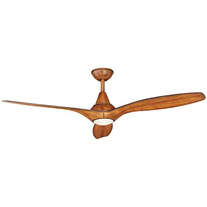 Tidal breeze 56 in indoor led distressed koa ceiling fan