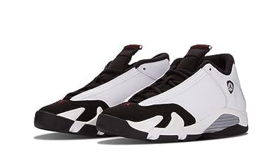 Amazon.com | Nike Air Jordan 14 Retro Kids Black/White 654963-102 | Sneakers