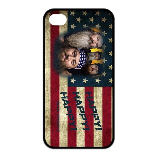 Fayruz- Duck Dynasty Protective Hard TPU Rubber Cover Case for iPhone 4 / 4S Phone Cases A-i4K15
