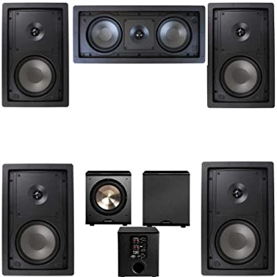 Klipsch R-2650-W In Wall #2 5.1 Home Theater System-FREE PL-200 from Klipsch