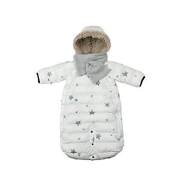 782659897 Amazon.com  7 A.M. ENFANT Doudoune One Piece Infant Snowsuit Bunting ...