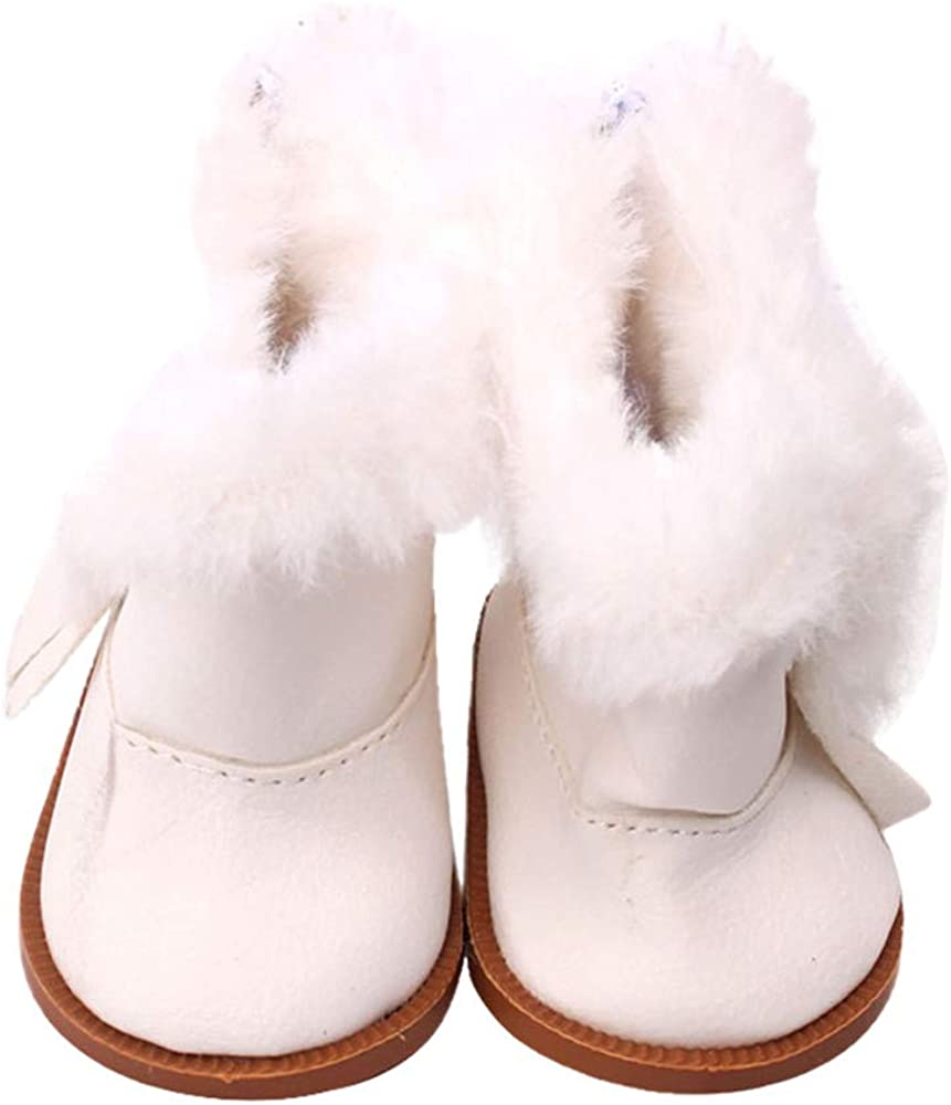 YUYOUG Hiver Doll Bottes pour Poup/ée for 18 inch Our Generation American Girl Doll Doll Chaussures