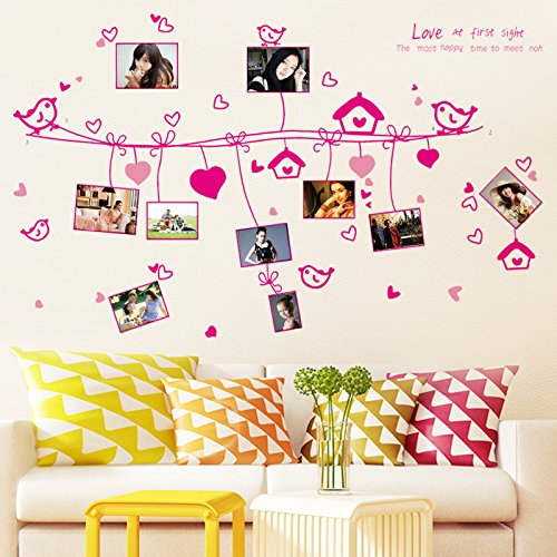Amazon Com Jialele Photo Wall Sticker Photo Clip String Lights