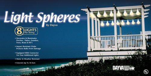 Dayva 8 Globe Light Spheres (Dayva Furniture Covers)