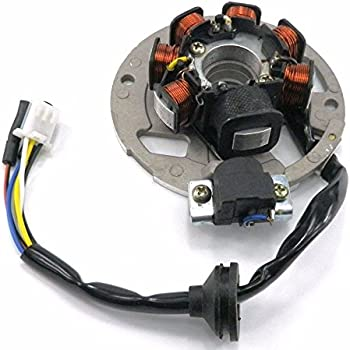 amazon com tc motor 5 wires 7 coils ignition magneto stator for 2 rh amazon com Simple Wiring Diagrams Begginers Guide to Wiring Diagrams