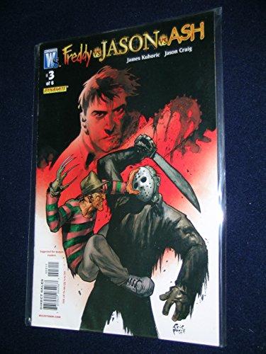 Freddy Vs. Jason Vs. Ash #3 (Wildstorm - DC Comics) (Wolverine Vs Spiderman Vs Hulk Vs Batman)