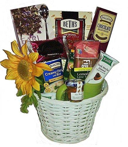 Sending Sunshine Soup, Tea & Cookie Basket