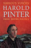 Various Voices, Harold Pinter, 0802116434